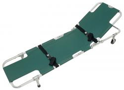 Easy-Fold Wheeled Stretcher with Adjustable Backrest JSA-604