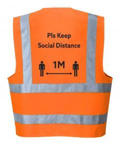 Social Distancing Hi-Vis Vest Singapore