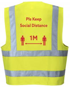 Social Distancing Hi-Vis Vest