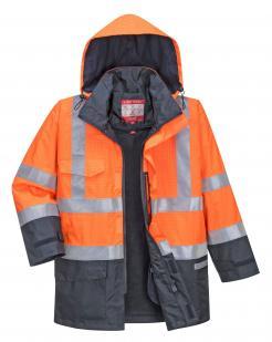 Bizflame Rain Hi-Vis Multi-Protection Jacket
