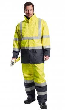 Bizflame Rain Hi-Vis Multi-Protection Jacket Singapore