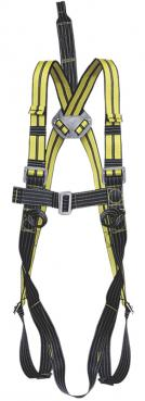 Harness Antistatic FreeBlast with aluminium dorsal D-Ring and chest attachment for fall arrest system