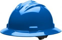 Bullard Full-Brim Hard Hat S71, Ratchet Suspension, Pacific Blue