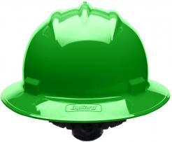 Bullard Safety Helmet S71 Hi Viz Green