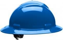 Bullard Full-Brim Hard Hat S71, Ratchet Suspension, Pacific Blue Singapore