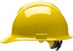 Bullard Hard Hat Classic C30, 6 Point Ratchet Suspension, Yellow