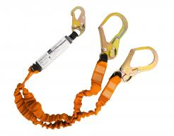 Double 140kg Lanyard with Shock Absorber (FP75)