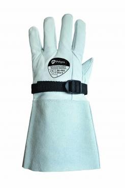 Electricians Leather Protector Gauntlet (With Buckle)