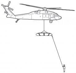 Med Sled Vertical Lift Rescue Tagline Kit (MSVLRTAG250)