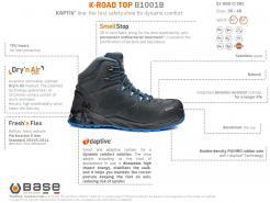 Base K-Road Top Safety Boot S3 HRO CI SRC Singapore