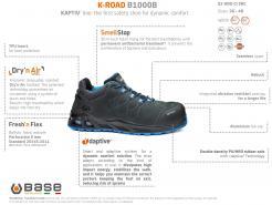 Base K-Road Safety Boot S3 HRO CI SRC (B1000B)