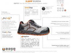 Base K-Jump Safety Shoe S1P HRO SRC (B1005A)