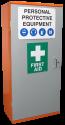 PPE Storage Cabinet - Single Door - 3 Shelves (SPP2)