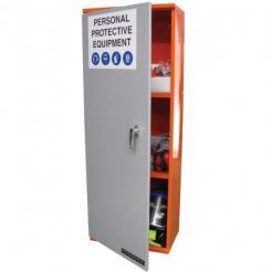 PPE Storage Cabinet - Single Large Door - 3 Shelves (SPP4)