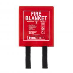 Firechief 1M X 1M Fire Blanket In Rigid Case (BPR1/K40)