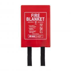 Firechief 1.2M X 1.8M Fire Blanket In Rigid Case (BPR3/K40)