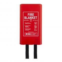 Firechief 1.8M X 1.8M Fire Blanket In Rigid Case (BPR4/K40)