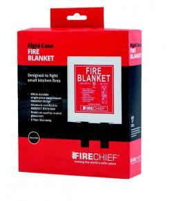 Firechief 1M X 1M Fire Blanket In Basic Pod White (Retail Pack) (BPW1/K40/RETAIL)