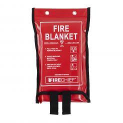 Firechief Premium 1.2M X 1.2M Fire Blanket In Soft Case (SVB2/K100-P)