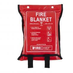 Firechief Premium 1.2M X 1.8M Fire Blanket In Soft Case (SVB3/K100-P)