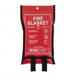 Firechief 1M X 1M Fire Blanket In Soft Case (SVB1/K40)
