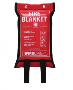 Firechief 1.2M X 1.2M Fire Blanket In Soft Case (SVB2/K40)