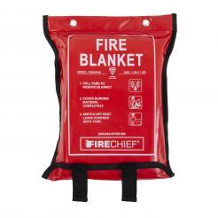 Firechief 1.2M X 1.8M Fire Blanket In Soft Case (SVB3/K40)