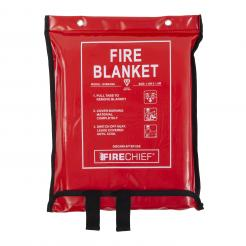 Firechief 1.8M X 1.8M Fire Blanket In Soft Case (SVB4/K40)