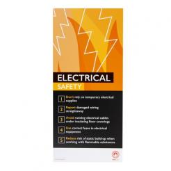 Fire Safety Assured Information Sign – Electrical Safety