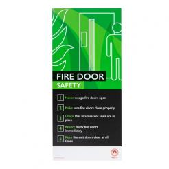 Fire Safety Assured Information Sign – Fire Door Safety