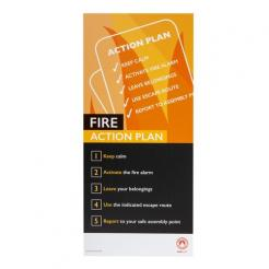 Fire Safety Assured Information Sign – Fire Action Plan