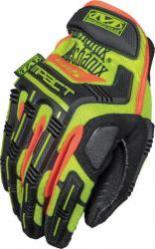 Mechanix Wear Safety M-Pact CR5 Gloves Hi-Viz Yellow