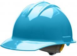 Bullard Hard Hat Classic C30, 6 Point Ratchet Suspension, Sky Blue