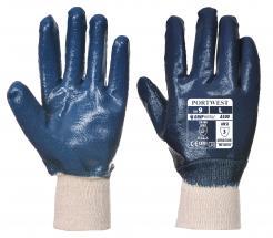 Nitrile Knitwrist Glove