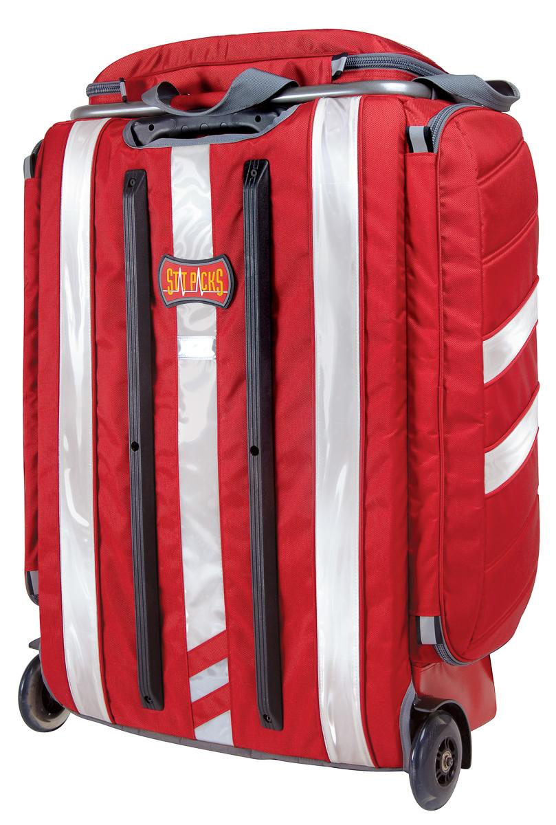 northrock safety statpacks g2 technician responder bag with roller wheels. Black Bedroom Furniture Sets. Home Design Ideas