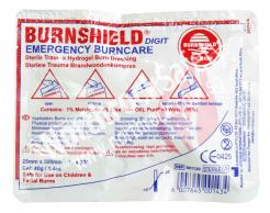 Sterile Burn Dressing (Digit Dressing) 25mm x 500mm Burnshield 901130