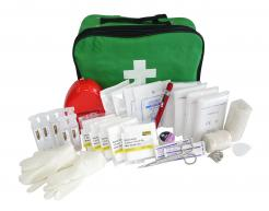 first aid kit box a in bag
