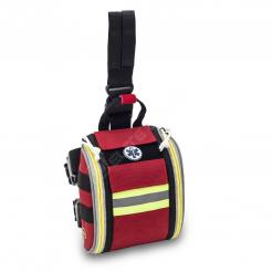 Elite Bags FAST'S Leg First Aid Kit Bag with Quick Opening System Red