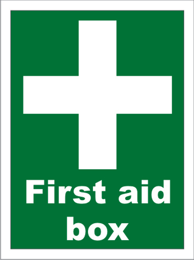 Northrock Safety First Aid Box Sign First Aid Box Location Sign